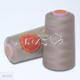 Швейные нитки 40/2 бежевые nit-252_65573