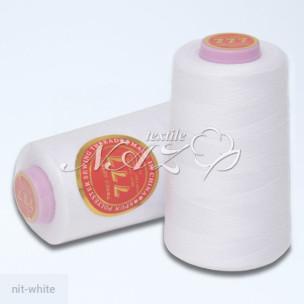 Швейные нитки 40/2 белые nit-white_65569